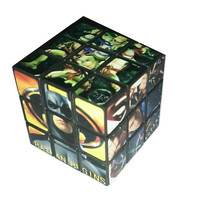 Superman Spider-Man Batman Power Rangers TMNT Hugh Jackman Wolverine Rubiks Type Puzzle Cube