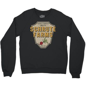 World Famous Beets Schrute Farms Crewneck Sweatshirt
