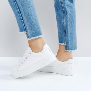 ASOS DAY LIGHT Lace Up Sneakers at asos.com