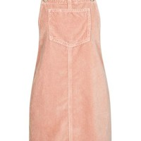 TALL Velvet Pinafore Dress