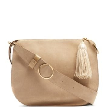 Tassel suede and leather shoulder bag | Hillier Bartley | MATCHESFASHION.COM US