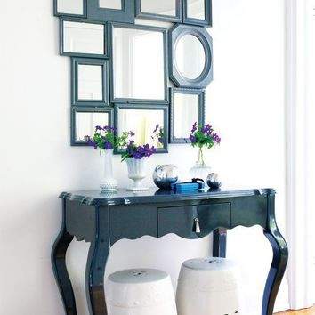 Project: Mirror wall - Fabulous DIY mirror wall - Simple Projects - How-To - St