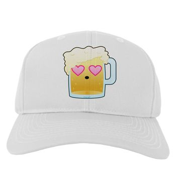 Cute Infatuated Beer Adult Baseball Cap Hat by TooLoud