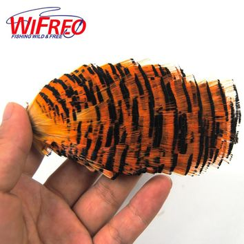Natural Color Golden Pheasant and Crest Fishing Fly Tying Feather Material