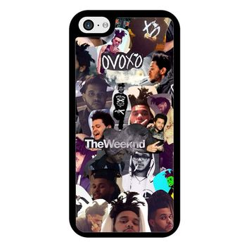 The Weeknd Collage iPhone 5/5S/SE Case