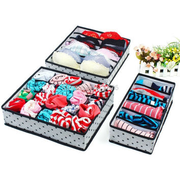 Foldable Storage Box Bra Organizer Dedicates Bag Laundry Storage Cloth Organizer Laundry Bag Underwear Box Storage Tray Laundry Storage