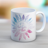 PiPhi Pi Beta Phi Feathers Mug // Sorority Coffee Mug