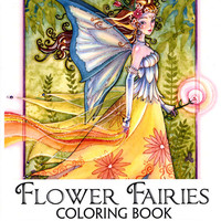 Sara Butcher's Flower Fairies Coloring Book from Gryphon's Moon!