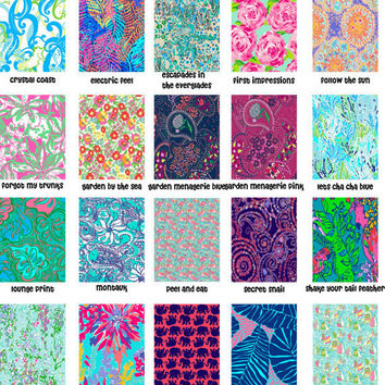 Lilly Pulitzer inspired 0.5 x 11 Vinyl Sheets!!