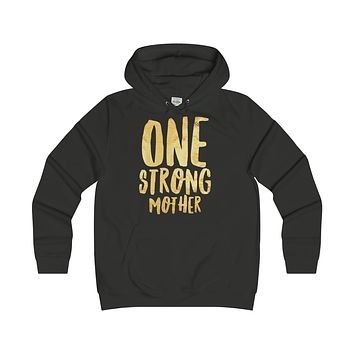 One Strong Mother Womens Hoodie