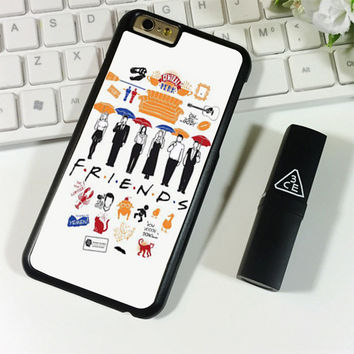 FRIENDS Collage Drawing iPhone 6 Plus   6S Plus Case Planetscase.com