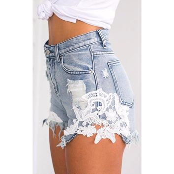 'Blue Jean Baby' Shorts
