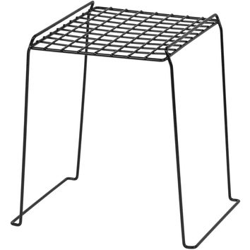 IRIS 12 Inch High Wire Locker Shelf Black Set of 4 Does Not Contain a Battery 11.61W x 11.22D x 12
