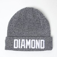Diamond Supply Co Reggie Beanie - Mens Hats - Blue - One