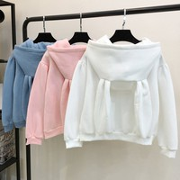 Kawaii Rabbit Ears Sweatshirt