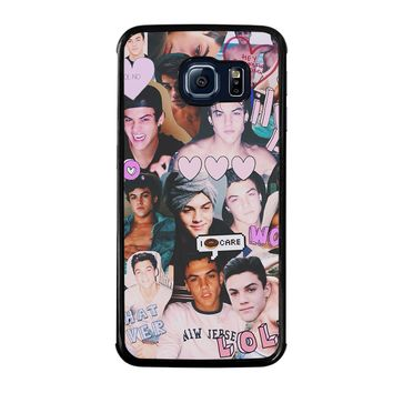DOLAN TWINS COLLAGE Samsung Galaxy S6 Edge Case