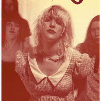 Hole Live Through This Courtney Love Poster 11x17