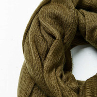 Oversized Ribbed Scarf - Urban Outfitters