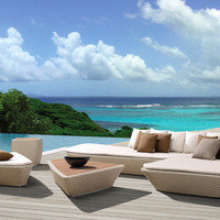 Island Outdoor Lounge Set