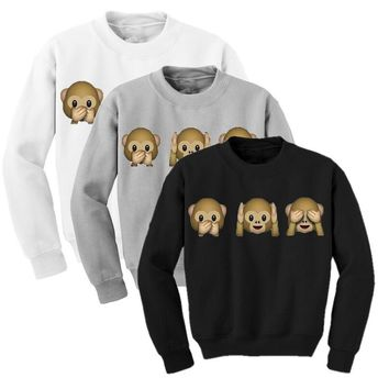 Monkeys Adventure Time Sweatshirt