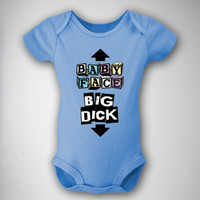 'Baby Face Big Dick' Infant Snapsuit