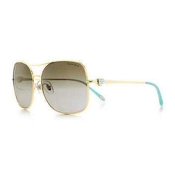 Tiffany & Co. - Return to Tiffany™ aviator sunglasses in Tiffany Blue® acetate.