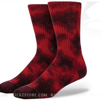 Stance Burnout Wine Socks