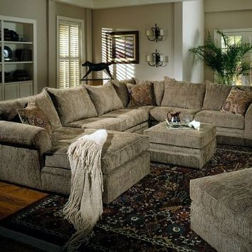 "Westwood Casual ""U"" Shaped Sectional"