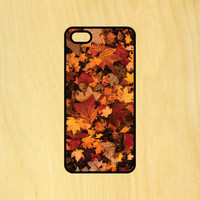 Autumn Leaves Phone Case iPhone 4 / 4s / 5 / 5s / 5c /6 / 6s /6+ Apple Samsung Galaxy S3 / S4 / S5 / S6