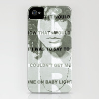 Jim Morrison iPhone Case by Richard Casillas | Society6