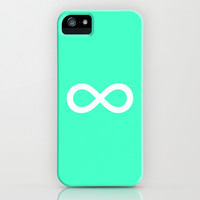 Mint Infinity iPhone & iPod Case by M Studio