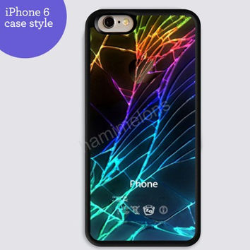 Rainbow Shards of glass colorful for iphone 6 iphone 6 plus iphone 5s case