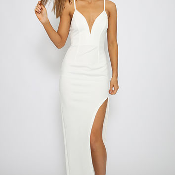Goodbye Kiss Dress - White