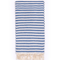 Turkish-T - Beach Candy Towel | Blueberry