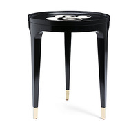 Kate Spade Ampersand Table Onyx ONE