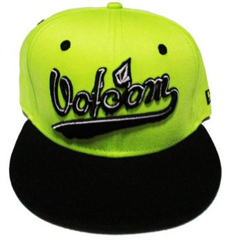 Volcom Air Ball Snapback Lime/green New Era Cap 9FIFTY