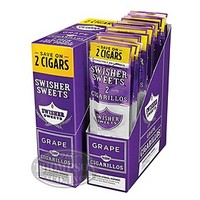 Swisher Sweets Grape Cigarillos 60 Count