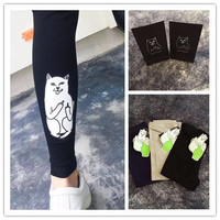 Cotton Stretch Casual Leggings [9259020228]