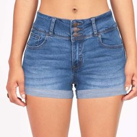 Trio Denim Shorts