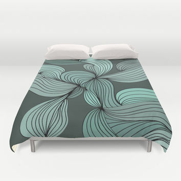 The Greens Duvet Cover by DuckyB (Brandi)