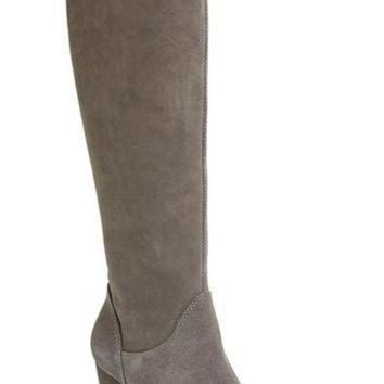CREY1O UGG? 'Ava' Tall Water Resistant Suede Boot (Women) | Nordstrom