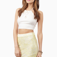 Lenora Lace Midi Skirt