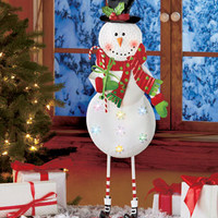 Lighted Holiday Standing Figures