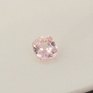 Padparadscha Sapphire Over 3 Carats Cushion Shape Loose Gemstone for Gemstone Engagement Ring Weddings Anniversary