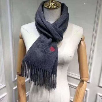 """""""Burberry""""Woman Casual Fashion Classic Comfortable Double Sided Personality Love Pattern Scarf"""