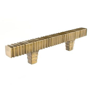 Du Verre Forged 3 Square Bar Cabinet Pull