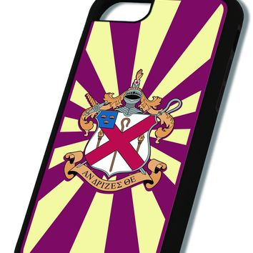 Alpha Chi Rho iPhone Case Black