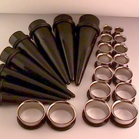 """ULTIMATE Ear Stretching Plugs Kit (9/16"""" - 1"""")"""