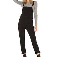 ROLLA'S Jasmine Overall in Overdyed Black | REVOLVE