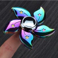 Universe Galaxy Stars Printed Finger Spinner Fidget Toy